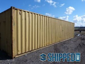 Massive Sale Used Wwt 40ft High Cube Shipping Container In Lakeland Florida
