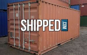 Available Today Clearwater Fl Used 20ft Wwt Shipping Container