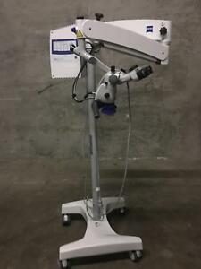 Zeiss Opmi Pico Portable Surgical Microscope With Medilive Video Control Unit