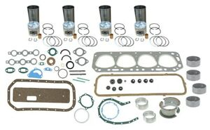 Engine Overhaul Rebuild Kit Ford 600 601 640 641 651 4 Cyl 134 Gas Tractor