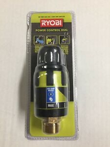 Ryobi Pressure Washer Flow Control Valve 1 4 In Qc Wand Connection Adjustable
