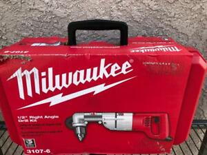 Brand New Milwaukee 3107 6 1 2 Corded Right Angle Drill