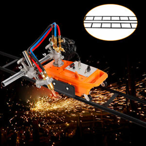 Portable Straight Line Gas Cutting Machine Cg1 30 Torch Track Burner Pipe Cutter