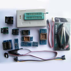 Usb Universal Tl866ii Plus In circuit Programmer With 10pcs Adapter Icsp Spi Set