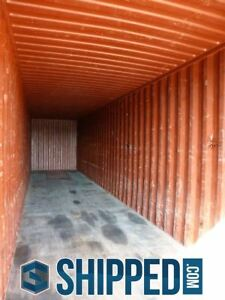 Used Wwt 40ft High Cube Shipping Container In St Petersburg Florida Must Sell