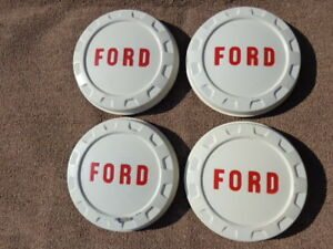 1961 1962 1963 1964 1965 Ford Truck Hubcaps Nos F100 Hubcaps Econoline Hubcaps