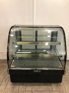Leader 48 Commercial Marble Bakery Display Refrigerated Case self Contained