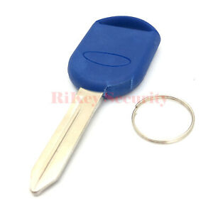 New Transponder Key H84 For Ford Lincoln Mercury Vehicles High Quality In Blue