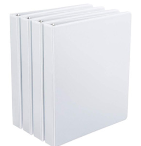 D ring Binders 1 1 5 2 inch Rings 4 pack free Fast Shipping