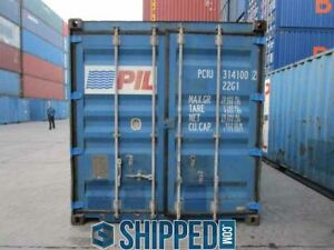 Available Immediately Largo Fl Used 20ft Wwt Shipping Container