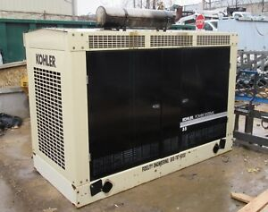 Kohler 35rzg Power Generator Natural Gas Fast Response 1800 Rpm 60 Hz 38 Kw