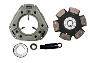 Heavy Duty 6 pad Clutch Kit Ford 8n 9n 2n Naa Jubliee Tractor