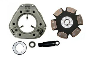 Heavy Duty 6 pad Clutch Kit Ford 961 971 981 Tractor