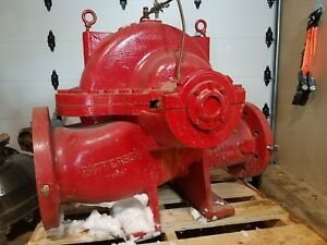 Centrifugal Fire Pump 10x8x17 Ssc 10 X 8 X 17 patterson Gorman 2000 Gpm 150hp