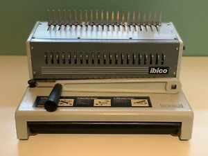 Ibico Kombo Heavy Duty Plastic Comb Punch Binder Binding Machine