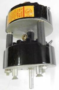 Ohmite 312 a 2p6p Power Tap Switch 25amps Ac Two Pole 6 Position Nos Ceramic