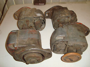4 Case Distributor Ignition Atq Vtg Tractor Engine Motor Truck Heavy Equipment
