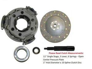 11 Clutch Kit Ford Tractor 4000 4100 4110 4140 4200 4330 4340 4400