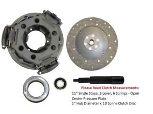 11 Clutch Kit Ford Tractor 4000 4200 4400 4410 4500 4600 4610