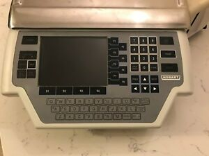 Working Hobart Quantum Max Grocery Deli Meat Scale Printer 28879bj