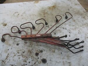 Ih Farmall 560 Diesel Used Working Injector Lines Antiquetractor