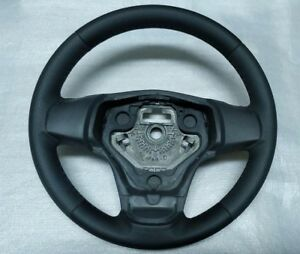 Opel Corsa D Steering Wheel Black Leather 2006 2014 13155558