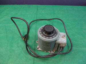 Powerstat Variable Transformer 116ct Used With Cord
