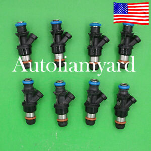 8x Genuine 4 Hole Delphi Flow Matched Fuel Injectors For Chevy Gmc 8 1l 17114503