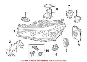 For Bmw Genuine Headlight Restoration Kit Front 63117440362