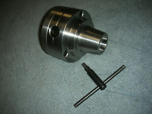 New Grizzly 10 11 Inch Lathe 5c Collet Chuck With 1 3 4 8 Backing Plate New