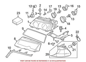 For Bmw Genuine Headlight Restoration Kit 63126904664