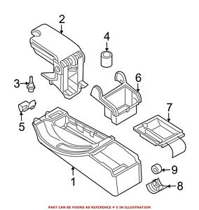 For Bmw Genuine Center Console Latch 51168228809