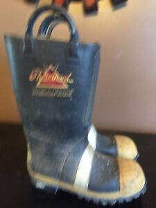 Thorogood Hellfire Firefighter Turnout Boots Size 9 Wide Mens