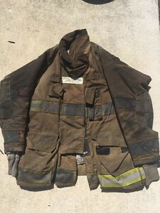Firefighter Turnout Bunker Coat Globe 50x35 G Extreme Halloween Costume
