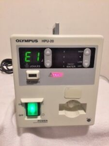 Olympus Hpu 20 Heat Probe Unit With Maj 528 Foot Switch 41156