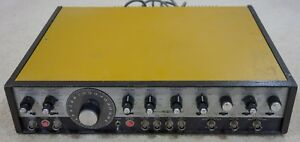 Systron Donner 410 Sweep Function Generator Clean Tested