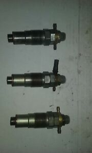 Iseki Lt2700f Tractor 3 injectors From E3ag1 running Engine used