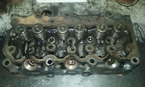 Cylinder Head Assembly iseki Lt2700f Tractor From E3ag1 running Engine used