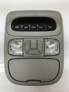 04 10 Toyota Sienna Overhead Console Homelink Slide Door Switch Map Light Gray