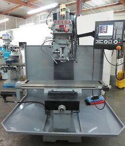 Acer Cnc Bed Mill With Fagor Control 10 x54 Table Year 2016