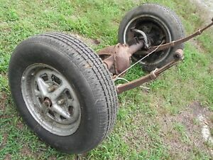 Vintage Antique 1978 Mgb Parts Complete Rear Axle Springs As Pictured