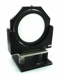 Aerotech Aom 110 12 Optical Mount For 12 Optic With Melles Griot Breadboard