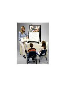 Rotating Surface Portable Easel magnetic Whiteboard id 2428
