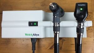 Welch Allyn 767 Transformer Macroview 23810 Ophthalmoscope 11710 Diagnostic Set