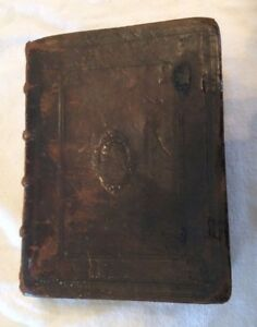 Rare Antique German Medical Book Published In 1595