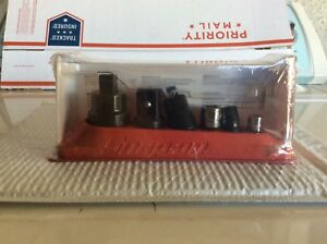 New Snap on 6 Pc Combination Drive Adaptor Set 1206gs