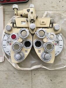 Ao Minus Cyl Phoroptor With Auxiliary Lenses excellent Condition Made In Usa