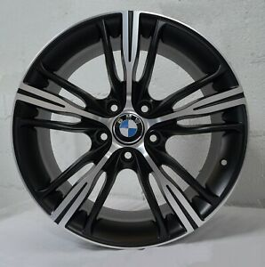 Set Of 4 Wheels 18 Inch Matt Black Rims Fits Bmw 535i 2008 2016