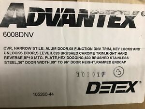 Detex Cvr Narrow brand New In Sealed Box