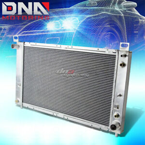 99 07 Yukon sierra tahoe escalade V8 2 row Core Full Aluminum Racing Radiator At